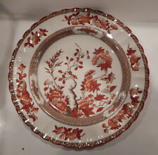 "COPELAND SPODE INDIA TREE OLD MARK DINNER PLATE 10 1/4"" MADE IN ENGLAND"