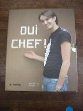 CYRIL LIGNAC Oui chef + chef la recette- Coffret 2 livres