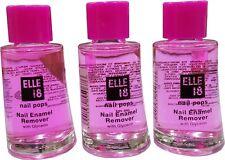 2 x elle 18 Nail Pops Enamel Remover Fresh New Big Pack Piece 30ml each (60ml)