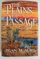 The Plains of Passage by Jean M. Auel, 1990, 1st Ed, 1st Pr, Like New