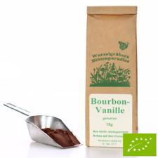 """BIO Vanille """"Bourbon"""", gemahlen – 15g"""