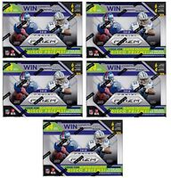 5x 2018 Panini Prizm Football sealed blaster box 6 packs of 4 NFL cards 1 hit