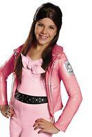 Child Disney Channel High School Movie Teen Beach Lela Brown Hair Costume Wig