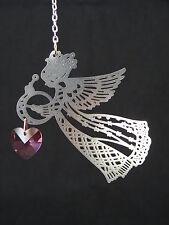 Guardian Angel Heart Sun Catcher/Rainbow Maker Swarovski Crystal Element
