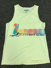New listing Chubbies Men's Tank Top Size Medium M Yellow Life is too Shorts for Pants Surf