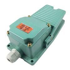 AC 250V 15A 1NO 1NC Momentary Pedal Fussschalter mit Kabelverschraubung GY