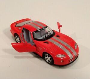 Dodge Viper GTS-R Kinsmart Diecast 1:36 w/Pull Back Action Black