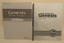 A Beka Genesis First Things - 2nd Edition - 2 Books - New