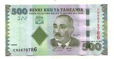 Tanzania  500 shilingi  2010    FDS UNC       pick 40    lotto 3622