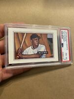 Willie Mays PSA 8 Bowman Collector Card Investment Man Cave 1989 Vintage GIFT NR