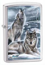 Zippo 28002 mazzi winter wolves full size Lighter