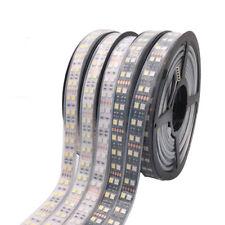 Doble fila 5m 600 LED tira 5050 SMD 120 Leds/m de cuerda cinta de cinta Luz DC 12V 24V