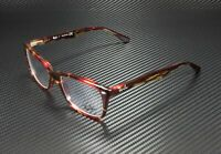 RAY BAN RX5228 5710 Spotted Red Brown Yellow Demo Lens 53 mm Unisex Eyeglasses