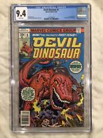 Devil Dinosaur #1 CGC 9.4 1st Appearance of Devil Dinosaur & Moon Boy 1978