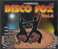 Disco Fox, Vol. 4 by Various Artists (CD, 2 Discs, ZYX Music)