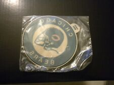 VINTAGE NEW (NOS) SEALED NFL CHICAGO BEARS DECAL IS IN MINT CONDITION 3 x 3