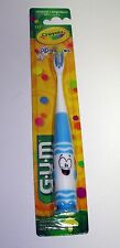 New G.U.M Crayola Pip-Squeaks Child Toothbrush Ultra Soft Bristles Select Colors