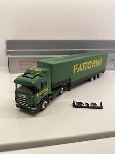 Camion Scania TL 1/87 Ho Herpa FATTORINI / Faller Albédo Awm Brekina Busch Roco