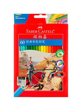 FABER-CASTELL Assorted 12/24/36/48/60  Premium Color Oil Based Pencil Set