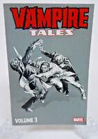 Vampire Tales Vol 3 Marvel Comics TPB Trade Paperback Brand New Morbius Morgana
