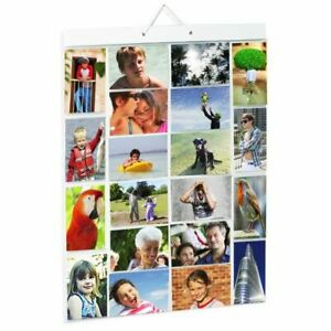 Picture Pockets Large For 40 Photos Hanging Gallery Frame Display Wall Door