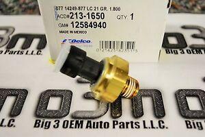 Buick LeSabre Park Avenue Pontiac Bonneville Oil Pressure Sensor new OE 12677837