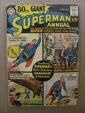 80 Page Giant #1 Superman Annual DC Comics 1964