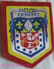 BG5873 - PATCH ECUSSON TISSU BLASON VILLE D' ERMONT