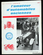 AMATEUR D'AUTOMOBILES OLD No. 7 1968
