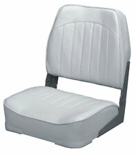 Wise Seating Low Back Boat Seat- White