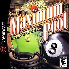 Maximum Pool - Sega Dreamcast, Good Video Games