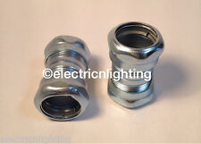 "STEEL EMT COUPLINGS compression type 1/2"" - Pack of  25 electrical fittings"