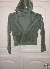 Girls Old Navy Velour Hooded Shirt - Size Large (10/12)