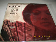 Ray Conniff & Orchestra Say It With Music (Touch Of Latin) LP CL1490 VG++