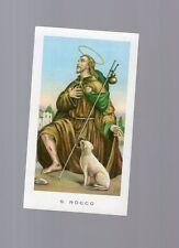 santino venerabile  san rocco con preghiera sul retro