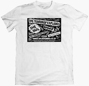 The Fall/Teardrop Explodes/Josef K/Fire Engines T-shirt/Long Sleeve gang of four
