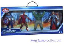 playset MARVEL 4 THE AVENGERS H 20 cm Disney Store Hasbro HULK IRON MAN THOR CAP