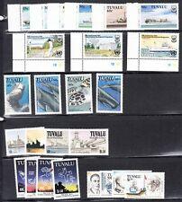 Tuvalu - 555 // 593 Mint NH (Catalog Value $76.20) - 6 sets