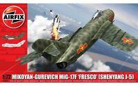 AIRFIX® 1:72 MIKOYAN-GUREVICH MIG-17F 'FRESCO' MODEL AIRCRAFT KIT A03091