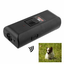 Hot Black Digital Ultrasonic Pet Dog Repeller Stop Barking Aggressive - S99