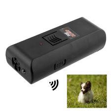 Hot Black Digital Ultrasonic Pet Dog Repeller Stop Barking Aggressive -UK Seller
