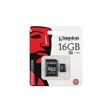 Tarjeta Micro SD Kingston clase 10 con adaptador para PC 16 GB - 32 GB y 64 GB