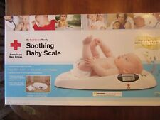 American Red Cross Soothing Baby Scale~Digital Weight~Music~Track Growth~Weigh~