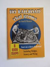 Ho Railroad That Grows! Bridges Scenery & Wiring. (Railroad Magazine)