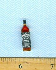 Dollhouse Miniature Size Whiskey Bottle  #  J D