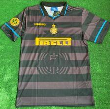 ⚫🔵Maglia Inter 1997 1998 Coppa Uefa Ronaldo 10 umbro shirt finale vintage