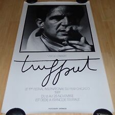 CHICAGO INTERNATIONAL FILM FESTIVAL 1981 ORIG POSTER VICTOR SKREBNESKI TRUFFAUT
