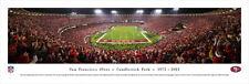 "NFL San Francisco 49ers ""Last TouchDown"" Picture Candlestick Park - Collectable"
