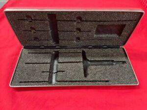 STARRETT VINYL CASE ONLY for 440-6RL Micrometer Depth Gauge    RARE MODEL