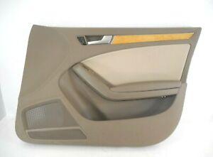 09-12 Audi A4 Quattro Interior Door Trim Panel Front Passenger Right OEM Sdn Wgn